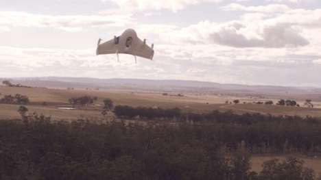 Autonomous Delivery Drones - Google's Project Wing is Developing Drones that Deliver Packages