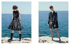 Seaside All-Leather Editorials