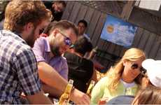 Patio Sunshine Reflectors - The Corona Sun Beam Brings Unlimited Sun to Patio Drinking Experiences
