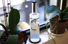 Endagered Species Spirits - The Purchase of This Vodka Sends Proceeds to the Snow Leopard Trust
