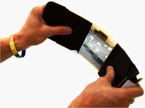 20 Flexible Tech Designs - From Flexible TV Displays to Fantastically Flexible Phones