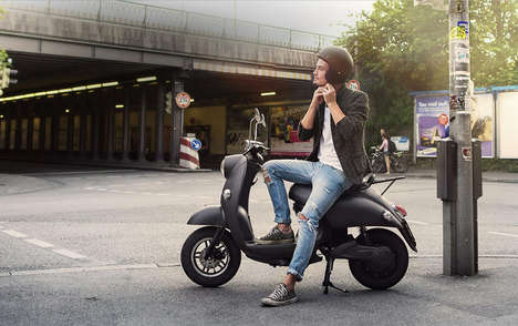 Convenient Battery Scooters - The UNU Scooter Uses a Simple Battery Device
