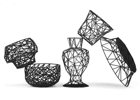 25 3D-Printed Home Decor Finds - From 3D Printed Tea Sets to Bulbous Textured Seating