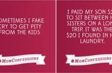 Confessional Mom Campaigns - LG's Mom Confession Campaign Includes Real Moms