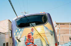 Airbrushed Bus Photography - Daniel Hofer's Photos Capture Artwork on Bolivian Buses