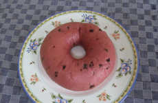 Summery Watermelon Bagels - Japan's Bagel & Bagel Chain Makes Tasty Watermelon Flavor Bagels