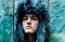 Eccentric Autumn Editorials - Christopher Strzelecki Stars in Randolph Tan's Fashion Story