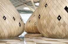 Bulbous Transit Pavilions