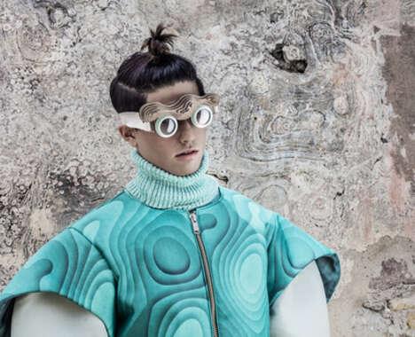 Sculptural Futurism Editorials