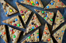 Technicolored Cookie Desserts - Just a Taste's Monster Cookies Recipe is Infused with M&M Candies