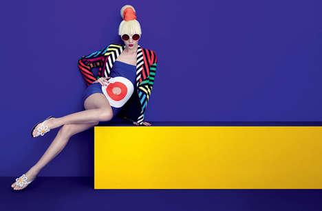 Eccentric Pop Art Editorials - The Plastic Dreams Eat My Melissa Story Features Aline Weber