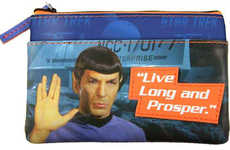 Intergalactic Coin Clutches - This Spock Star Trek Coin Pouch is Perfect for Carrying Small Change