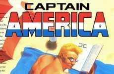 Sensualized Male Superheroes - Brett White Imagines Marvel's Men as Racily Depicted as Their Women