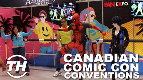 Canadian Comic Con Conventions - Trend Hunter Checks Out All Fan Expo Toronto Has to Offer