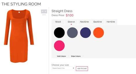Bespoke Dress Design Platforms - Rose Athena's Custom Dress Creations Turn Consumers into Designers