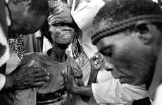 Zionist Exorcism Photos - The Touch of God Photo Series Captures Grim Exorcism Rituals in Swaziland