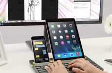 Multi-Device Keyboards - This Logitech Keyboard Lets You Type on Your Laptop, Tablet and Smartphone