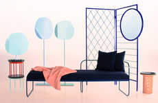Playful Norwegian Furniture - Design Duo Vera & Kyte Create Vibrant Modern Furniture