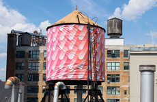 Water Tank Artwork (UPDATE) - The Water Tank Project Revamps Elements of New York City