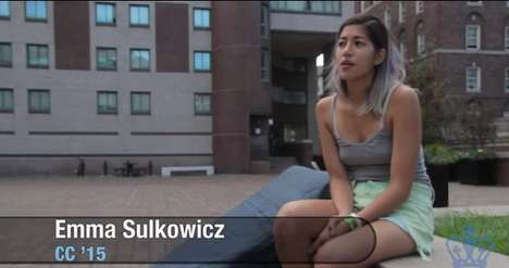 Anti-Rape Performance Art - Emma Sulkowicz Carries Her Mattress as a Form of Protest