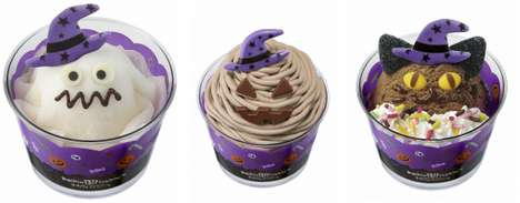 Spooky Ice Cream Flavors - These Halloween Baskin Robins Ice Cream Desserts are Perfect for Fall
