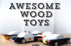 Modern Vintage Toy Cars - Candylab Toys Revives a Glam American 60s Vibe for Children