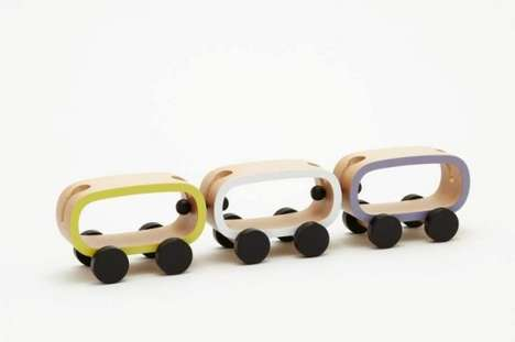 Sustainable Toy Collections - Buchi's Wooden Toy Line Features Trains, Blocks and Furnishings