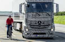 Truck Blind Spot Radars - Blind Spot Assist Technology Will be Used in Mercedes-Benz Trucks