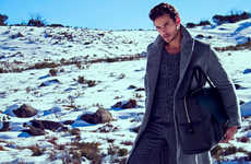 Manly Mountainside Portraits - Mark Grant Stars in This Outdoor Editorials by Pat Supsiri