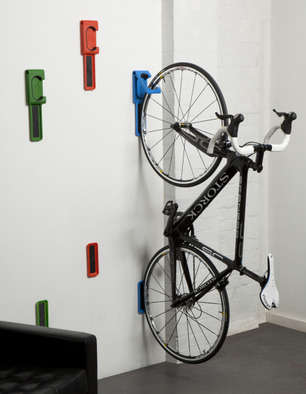 Indoor Bicycle Racks - Cycloc's Endo is an Affordable and Chic Wall Mount for Bikes