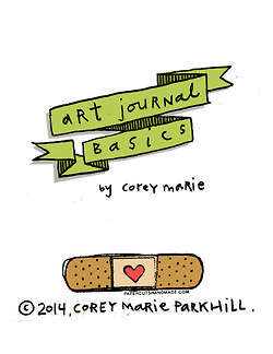 Illustrated Diary Guides - Corey Marie Draws Instructions On How To Create Your Own Art Journal