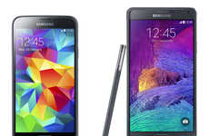 Upgraded Android Smartphones - The Galaxy Note 4 is One of Four Major Product Launches for Samsung