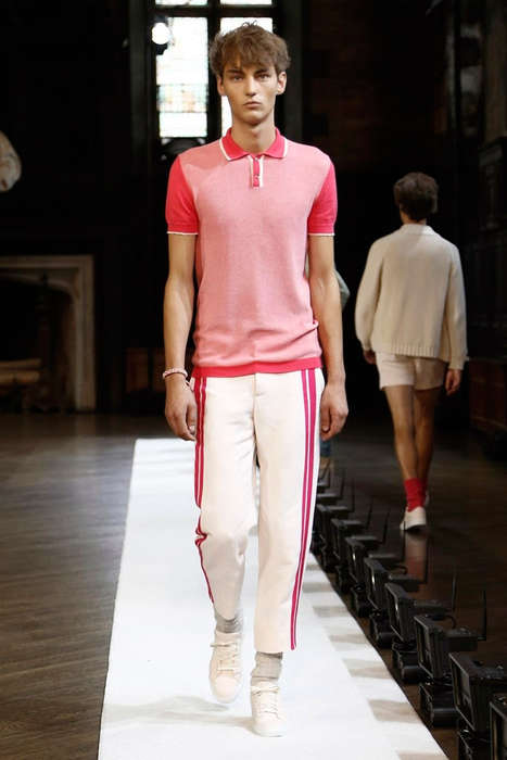 Nostalgic Prepster Runways - Orley's New York Fashion Week Presentation Pays Homage to the 70s