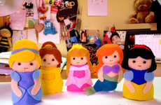DIY Disney Toys - These Felt Disney Toy Puppets are Enjoyable and Easy to Construct