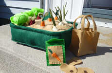 Felt Garden Playsets - This Adorable Garden Toy for Kids Teaches How to Grow Plants