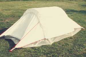 The One Nights Tent is the Ideal Festival Tent as it is Compostable