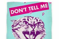 Defiant Feline Blankets - The 'Don't Tell Me What To Do' Blanket Gets Aggressive