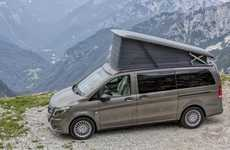 Stripped-Down Camper Vans - The Mercedes Marco Polo Activity Keeps it Simple