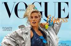 Retro Sports Fashion - The Latest Issue of Vogue Spain Stars an Athletic Cato Van Ee