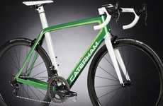 Aerodynamic Bicycles - The Caterham Duo Bicycles are Decidedly High-End