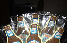 Deceptive Alcohol Desserts - Etsy's Beer Cookies Are Personalized to Resemble One's Favorite Brew