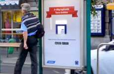 Phone-Sized Shopping Ads - Tesco's Mobile App Ad Presents Its App as the Tiniest Store Ever