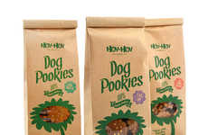 Landscaping Dog Treats - Hov-Hov Bakery's Dog Cookies Turn Pet Messes into Flowers