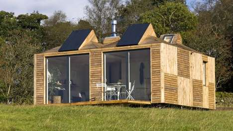Modular Cottages - The Eco Pod Can Operate Off-The-Grid