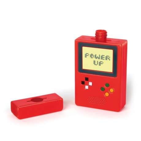 Retro Gamer Flasks - The Power Up Flask is Designed to Resemble the Game Boy