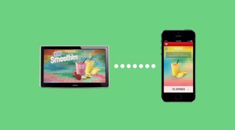 App-Connected Commercials - McDonald's Fruit Match Commercial Plays a Game with Smartphones