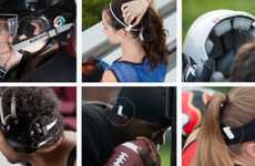 Concussion-Spotting Gadgetry - The Jolt Sensor Vibrates When Athletes Get Hard Knocks to the Head