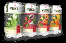 Bottle-Like Can Packaging - The Yukai Design Features a Can for the Top and a Bottle Underneath