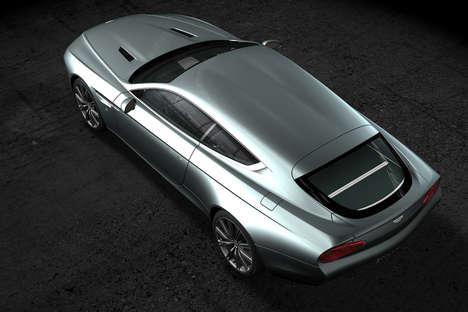 Bespoke British Cars - The Virage Shooting Brake Zagato Blends British and Italian Engineering