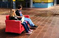 Remote-Controlled Couches - The RoboCouch is an Exhilarating Couch Design That Can Be Driven Around